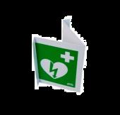 AED kyltti vihreä pleksi