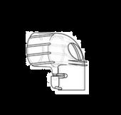 Respironics PerforMax Kulmakappale turvaventtiilillä